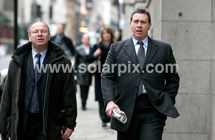 **ALL ROUND PICTURES FROM SOLARPIX.COM**.**NO UK NEWSPAPER PUBLICATION **UK MAGAZINE PUBLICATION ONLY** AND NO PUBLICATION IN FRANCE, SCANDINAVIA, AUSTRALIA AND GERMANY** .Clive Goodman pictured arriving at the Old Bailey for sentencing this morning. .The Ex News Of The World royal correspondent pleaded guilty to eight counts of intercepting communications following claims that staff working for Prince Charles had phone calls intercepted..JOB REF: 3280        SFE       DATE: 26_01_07.**MUST CREDIT SOLARPIX.COM OR DOUBLE FEE WILL BE CHARGED**