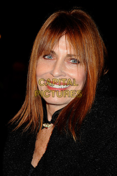 "JOANNA CASSIDY .25th Annual Santa Barbara International Film Festival Opening Night Premiere of ""Flying Lessons"" held at the Arlington Theatre, Santa Barbara, California, USA, .4th February 2010..portrait headshot fringe black smiling  .CAP/ADM/BP.©Byron Purvis/AdMedia/Capital Pictures."