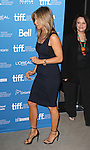 Jennifer Aniston and Adriana Barazza during the Photo Call for 'Cake' at the the tiff Bell Lightbox during the 2014 Toronto International Film Festival on September 9, 2014 in Toronto, Canada.