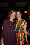 Marina Squerciati and mom pose at the after party at Sardis for the Opening Night of Manipulation on June 28, 2011 at the Cherry Lane Theatre, New York City, New York. (Photo by Sue Coflin/Max Photos)