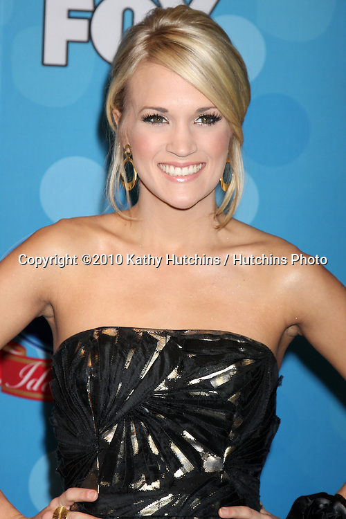 "Carrie Underwood.in the ""Idol Gives Back"" Press Room.Pasadena Civic Center.Pasadena, CA.April 21, 2010.©2010 Kathy Hutchins / Hutchins Photo..."
