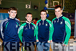 Diarmuid O'Connor, Ryan O'Neill, Andrew Barry and Jack Barry, pictured at the Tralee Enterprise Town Community, Sport and Business Expo at Tralee Sports Complex on Saturday morning last.