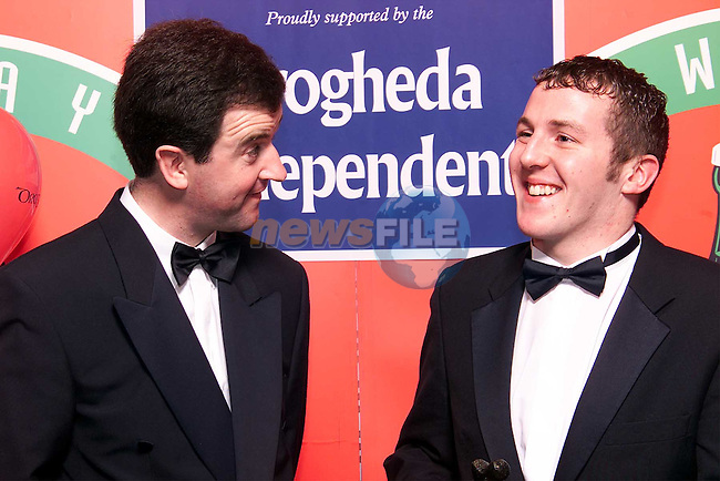 Colin Lowth and  Frank Mulrennan, Managing Director Drogheda Independent..Picture: Paul Mohan/Newsfile