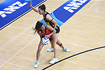 BLENHEIM, NEW ZEALAND - MARCH 15:  ANZ Premiership match between the Tactix and the Pulse at Stadium 2000 on March 15, 2020 in Blenheim, New Zealand.2020. (Photo by  Shuttersport Limited)