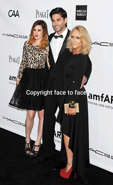 Rumer Willis arrives at the amfAR 3rd Annual Inspiration Gala at Milk Studios, Los Angeles, California, 11.10.2012...Credit: Mayer/face to face..- No Rights for USA and Canada -