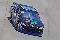 Jun 1, 2008; Dover, DE, USA; NASCAR Sprint Cup Series driver Denny Hamlin during the Best Buy 400 at the Dover International Speedway. Mandatory Credit: Mark J. Rebilas-US PRESSWIRE