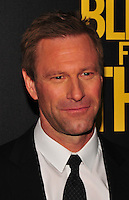 NEW YORK,NY November 014 : Aaron Eckhart attends as Open Road with Men's Fitness host the premiere of 'Bleed For This' at AMC Lincoln Square Theater on November 14, 2016 in New York City..@John Palmer / Media Punch