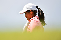 SINGAPORE - FEBRUARY 01: Celine Boutier of France walking-up the 1st during the second round of the HSBC Women's World Championship 2019 at Sentosa Golf Club - Tanjong Course, Singapore on March 01, 2019.<br /> .<br /> .<br /> .<br /> (Photo by: Naratip Golf Srisupab/SEALs Sports Images)<br /> .<br /> Any image use must include a mandatory credit line adjacent to the content which should read: Naratip Golf Srisupab/SEALs Sports Images