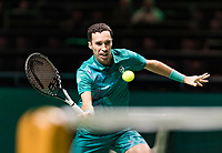 Rotterdam, The Netherlands, 14 Februari 2019, ABNAMRO World Tennis Tournament, Ahoy, Mikhail Kukushkin (KAZ) <br /> Photo: www.tennisimages.com/Henk Koster