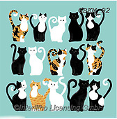 Kate, CUTE ANIMALS, LUSTIGE TIERE, ANIMALITOS DIVERTIDOS, paintings+++++Cats and dogs page 43,GBKM92,#ac#, EVERYDAY
