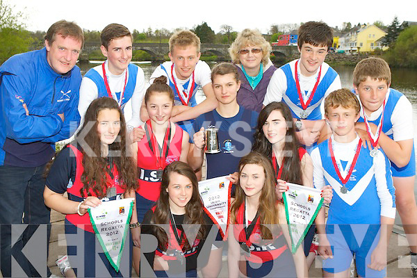 Killorglin rowers who were successful and the All Ireland College, Schools and Club regatta's in Skibereen and Iniscarra over the weekend front row l-r: Molly Sullivan, Kerri Fay. Middle row: Emma Murphy, Zoe Hyde, Monika Dukarska, Katie Fay, Matthew O'Connor. Back row: Mike Fleming, Conor Dee, Rob Shaw, Katy O'Connor, Kieran O'Sullivan and John O'Grady..