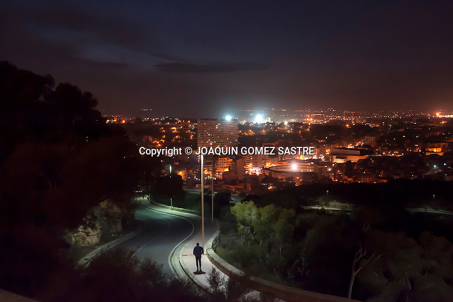 View of the city of Alicante from castle Santa Barbara<br /> PHOTO &copy; JOAQUIN GOMEZ SASTRE