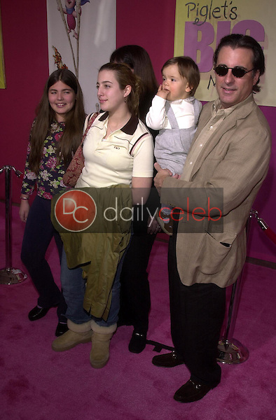 Andy Garcia and family