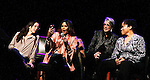Rent's original cast members Daphne Rubin-Vega talk with Jessie L. Martin by phone at the first ever 3-day Broadway Con on January 22 - 24, 2016 at the Hilton Hotel, New York City, New York.  (Photo by Sue Coflin/Max Photos)