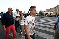 NAPOLI DRIES MERTENS SUL LUNGOMARE <br /> FOTO CIRO DE LUCA