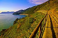 Hiking path near Manarola, Cinque Terre, Italy