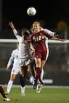 03 December 2010: Boston College's Julia Bouchelle (12) and Stanford's Camille Levin (2). The Stanford University Cardinal defeated the Boston College Eagles 2-0 at WakeMed Stadium in Cary, North Carolina in an NCAA Women's College Cup semifinal game.