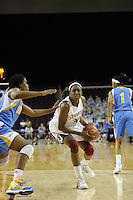 March 14, 2010.  Nnemkadi Ogwumike during the finals of the Pac-10 tournament.  Stanford defeated UCLA, 70-46.