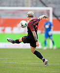 Feature, Philipp MAX (A) in Aktion, Kopfverband, <br /><br />Fussball 1. Bundesliga, 33.Spieltag, Fortuna Duesseldorf (D) -  FC Augsburg (A), am 20.06.2020 in Duesseldorf/ Deutschland. <br /><br />Foto: AnkeWaelischmiller/Sven Simon/ Pool/ via Meuter/Nordphoto<br /><br /># Editorial use only #<br /># DFL regulations prohibit any use of photographs as image sequences and/or quasi-video #<br /># National and international news- agencies out #