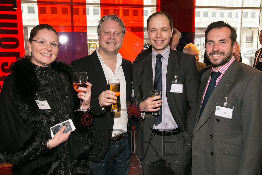 From left are Jane Wright of Quartz Legal, Marcus Holdsworth of Marcus Holdsworth Photography, Ian Whiley of Swindell & Pearsons and Paul Wright of Quartz Legal