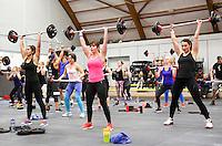 Nederland Amsterdam 2016 . De Fitness Expo . Een fitness en lifestyle event  in de Sporthallen Zuid met diverse wedstrijden en clinics.  Foto Berlinda van Dam / Hollandse Hoogte