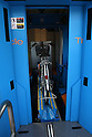 Apr. 30, 2010 - Tokyo, Japan - A bicycle enters the elevator of an automated underground parking in Tokyo, Japan, on April 30, 2010. The Sugiyama Park Subway Bicycle Parking opened on April 20 and can store up to 250 bicycles. It costs 2,500 yen for a monthly ticket to use. Starting May 1, users who will park their bicycle in illegal spaces near Shin Nakano station will be ticketed.