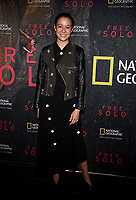 "WEST HOLLYWOOD - NOVEMBER 11: Elizabeth Chai Vasarhelyi attends a screening of National Geographic's ""Free Solo"" at Pacific Design Center on November 11, 2018 in West Hollywood, California. (Photo by Frank Micelotta/National Geographic/PictureGroup)"