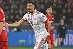 12.01.2018, BayArena, Leverkusen , GER, 1.FBL., Bayer 04 Leverkusen vs. FC Bayern M&uuml;nchen<br /> im Bild / picture shows: <br /> Sandro Wagner (Bayern Muenchen #2),  regt sich auf <br /> <br /> <br /> Foto &copy; nordphoto / Meuter