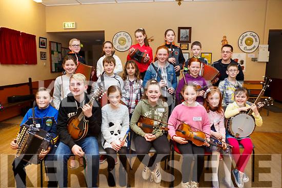 Attending the 28th Annual Féile Feabhra Ceolann workshop, at the Diarmuid Ó Catháin Cultural Centre, in Lixnaw on Saturday last.