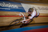 Sir Bradley Wiggins (GBR/Wiggins) at full speed<br /> <br /> 2016 Gent 6<br /> day 2