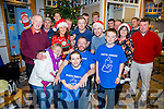 Michael O'Connell Chairman of Cahersiveen Credit Union went under the razor & knife for Movember in aid of Pieta House pictured here with family, friends and colleagues.
