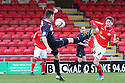 Greg Tansey of Stevenage and Matt Tootle of Crewe battle for possession. Crewe Alexandra v Stevenage - npower League 1 - The Alexandra Stadium, Gresty Road, Crewe - 5th January, 2013. © Kevin Coleman 2013.