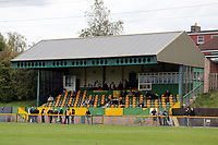 General view of the main stand during Romford vs Hastings United, FA Trophy Football at Ship Lane on 8th October 2017