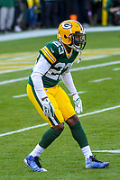Green Bay Packers cornerback Damarious Randall (23) during a National Football League game against the Tampa Bay Buccaneers on December 2nd, 2017 at Lambeau Field in Green Bay, Wisconsin. Green Bay defeated Tampa Bay 26-20. (Brad Krause/Krause Sports Photography)