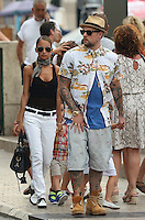 "Nicole Richie, Joël Madden & kids on vacation in the South of France aboard the ""Alibi"" yacht"