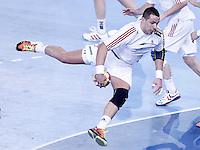 Hungary's Szabolcs Szollosi during 23rd Men's Handball World Championship preliminary round match.January 14,2013. (ALTERPHOTOS/Acero) /NortePhoto