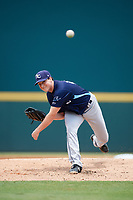 Charlotte Stone Crabs relief pitcher Kenny Rosenberg (22) delivers a pitch during a game against the Bradenton Marauders on June 3, 2018 at LECOM Park in Bradenton, Florida.  Charlotte defeated Bradenton 10-1.  (Mike Janes/Four Seam Images)