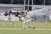 Stephen Eskinazi of Middlesex CCC drives through extra cover for a boundary during Middlesex CCC vs Lancashire CCC, Specsavers County Championship Division 2 Cricket at Lord's Cricket Ground on 11th April 2019