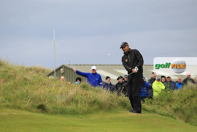 Jeev Milkha Singh (IND) on the 16th on Day 3 of the 2012 Irish Open at Royal Portrush Golf Club, Portrush, Co.Antrim, 30/6/12...(Photo Jenny Matthews/www.golffile.ie)