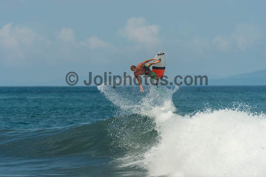 KERAMAS, Bali/Indonesia (Wednesday, June 26, 2013) Sebastien 'Seabass'  Zietz (HAW) during a free surfing session at Keramas. – Photo: joliphotos.com