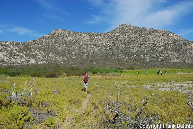Hiking at Los Frailes
