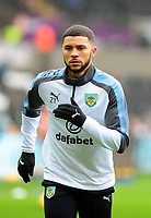 Burnley's Nahki Wells during the pre-match warm-up <br /> <br /> Photographer Ashley Crowden/CameraSport<br /> <br /> The Premier League - Swansea City v Burnley - Saturday 10th February 2018 - Liberty Stadium - Swansea<br /> <br /> World Copyright &copy; 2018 CameraSport. All rights reserved. 43 Linden Ave. Countesthorpe. Leicester. England. LE8 5PG - Tel: +44 (0) 116 277 4147 - admin@camerasport.com - www.camerasport.com