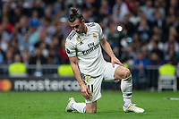 Gareth Bale of Real Madrid during the match between Real Madrid vs Viktoria Plzen of UEFA Champions League, Group Stage, Group G, date 3, 2018-2019 season. Santiago Bernabeu Stadium. Madrid, Spain - 23 OCT 2018.