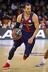 League ACB-ENDESA 2017/2018 - Game: 12.<br /> FC Barcelona Lassa vs Herbalife Gran Canaria: 77-88.<br /> Pau Ribas.