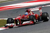 MONTMELO, ESPANHA, 10 DE MAIO DE 2013 - O piloto espanhol Fernando Alonso durante treino para o GP da Espanha de Fórmula 1 no circuito da Catalunha, em Montmelo, perto de Barcelona, Espanha, nesta sexta-feira, 10. FOTO: PIXATHLON / BRAZIL PHOTO PRESS.