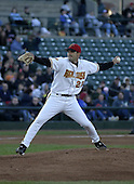 May 28, 2004:  Pitcher Dave Gassner of the Rochester Red Wings, Triple-A International League affiliate of the Minnesota Twins, during a game at Frontier Field in Rochester, NY.  Photo by:  Mike Janes/Four Seam Images