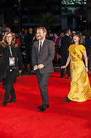 Rian Johnson, Seen arriving for Knives Out, Premiere at London Film Festival, Odeon Leicester Square, London. 08.10.19<br /> CAP/TSC<br /> ©TSC/Capital Pictures
