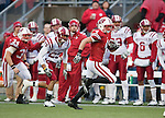 Wisconsin Badgers wide receiver Jared Abbrederis (4) returns a kick during an NCAA college football game against the Indiana Hoosiers on November 13, 2010 at Camp Randall Stadium in Madison, Wisconsin. The Badgers won 83-20. (Photo by David Stluka)