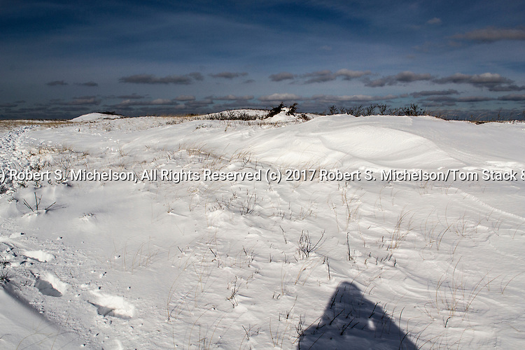 Monomoy National Wildlife Refuge Landscapes during Winter