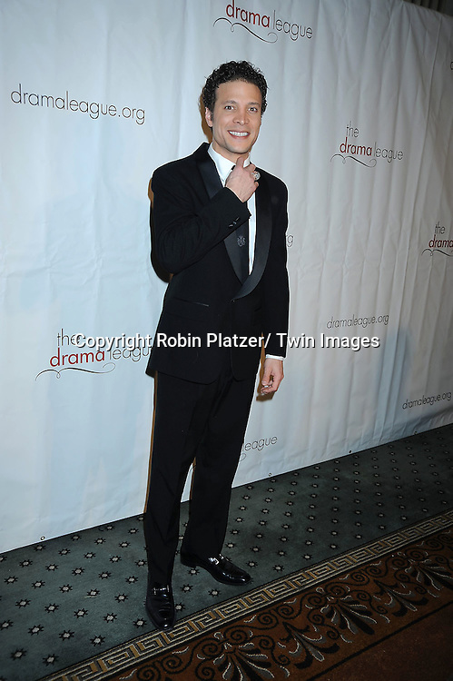 Justin Guarini attending The Drama League's 27th Annual All-Star Benefit Gala honoring Patti LuPone.on February 7, 2011 at The Pierre Hotel in New York City.
